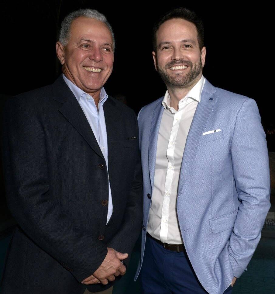 Luíz Haroldo Pereira e André Maranhão /  Foto: Cristina Granato