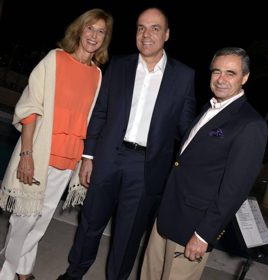 Inês Guerrero, Denis Calazans e Carlos Pestalardo /  Foto: Cristina Granato
