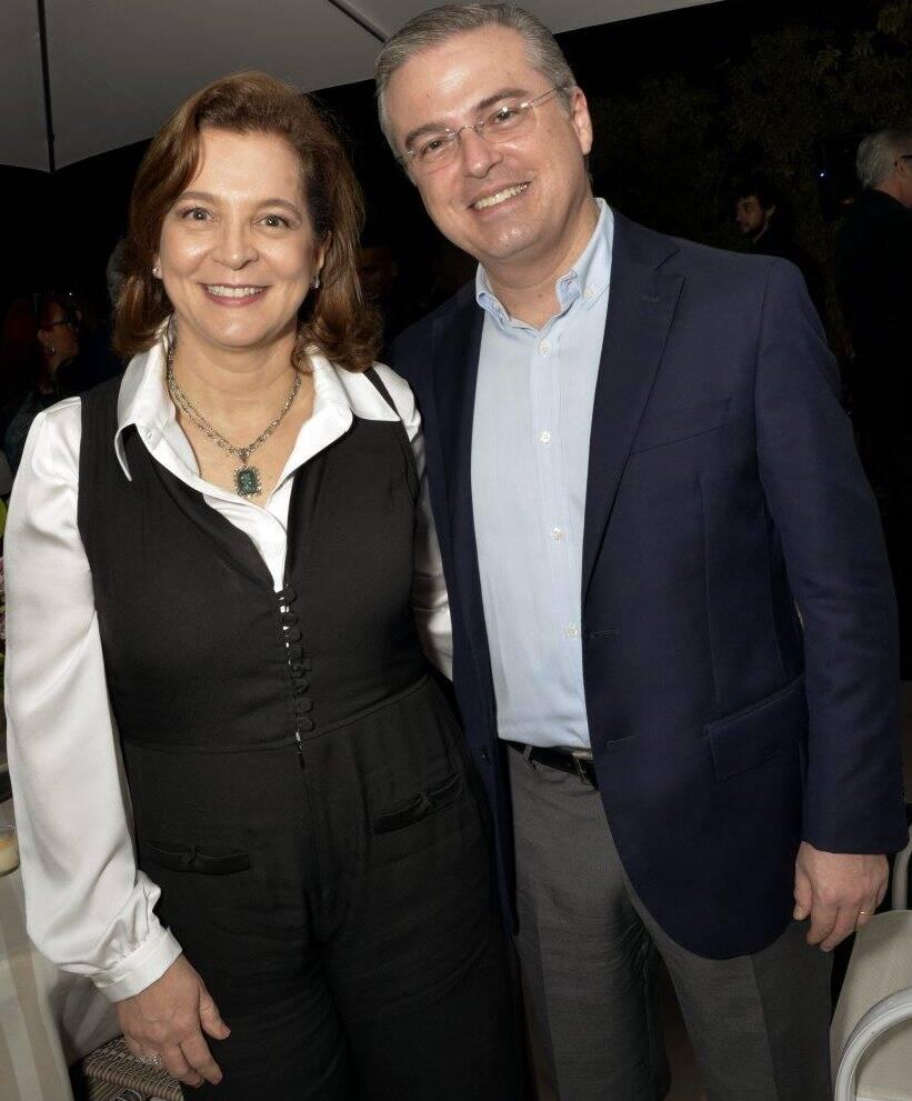 Gisela Pontes e Fernando Werneck  /  Foto: Cristina Granato