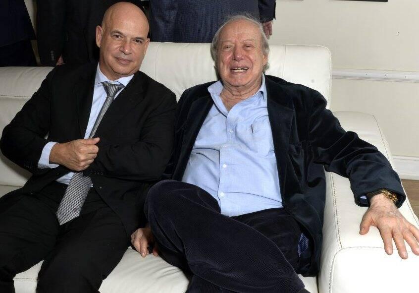 Fernando Cezar e Farid Hakme /  Foto: Cristina Granato