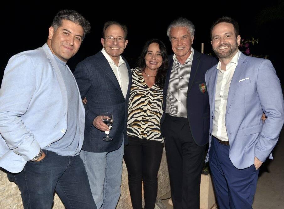 Alfredo Hoyos, James Stuzin,  Bárbara Machado, Volney Pitombo e André Maranhão / Foto: Cristina Granato