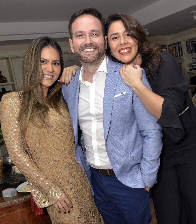 Patricia Sorrentino , André Maranhão   e Bianca Ohana  /  Foto: Cristina Granato