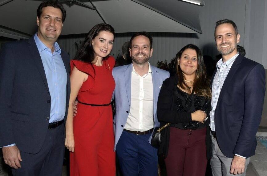 Guilherme Miranda , Carolina Mynssen , Flávia e Bruno Von Glehn Herkenhoff  /  Foto: Cristina Granato