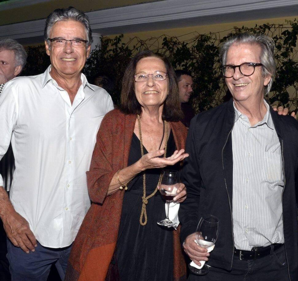 Paulo  Henrique Cardoso, Sandra Bondarovsky e Paulo Sérgio Duarte  /Foto: Cristina Granato