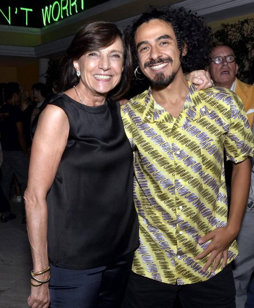 Frances Reynolds e Herbert Da Paz  /Foto: Cristina Granato