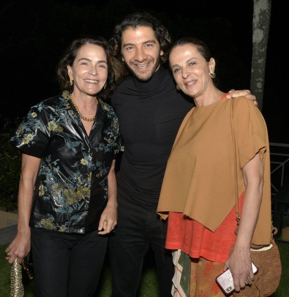 Evangelina Seiler, Fabio Szwarcwald e Sonia Racy  /Foto: Cristina Granato