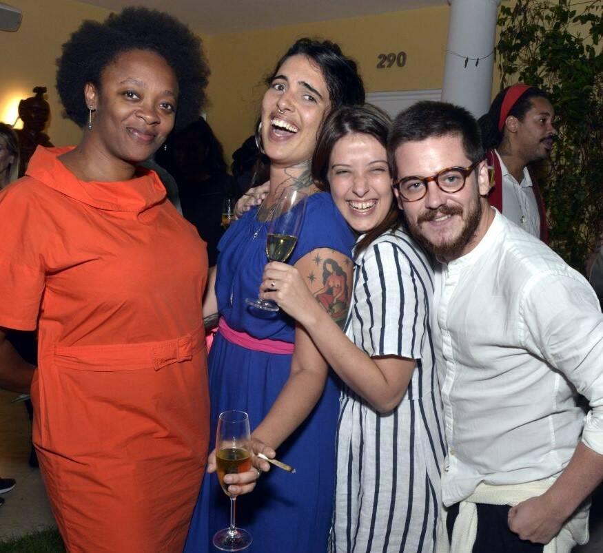 Kenia Eleison, Marcela Cantuária, Pollyana Quintella e Ulisses Carrilho  /Foto: Cristina Granato
