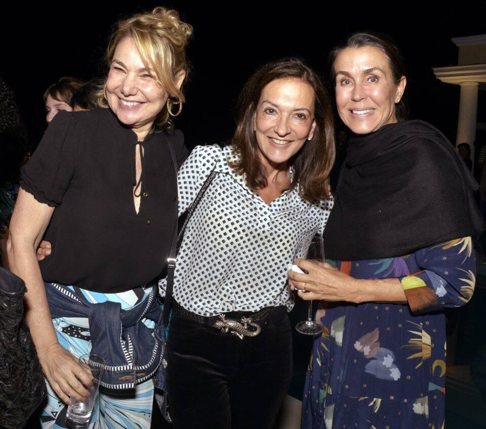 Marcia Muller, Fatima Otero e Patricia Azambuja  /Foto: Cristina Granato