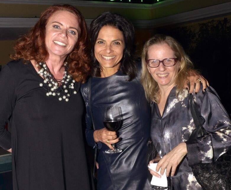 Leilane Neubarth, Vanessa Cardoso e Nani Rubim  /Foto: Cristina Granato