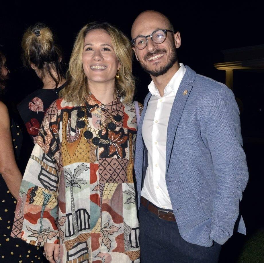 Mariana Brennand e Tom Santos  /Foto: Cristina Granato