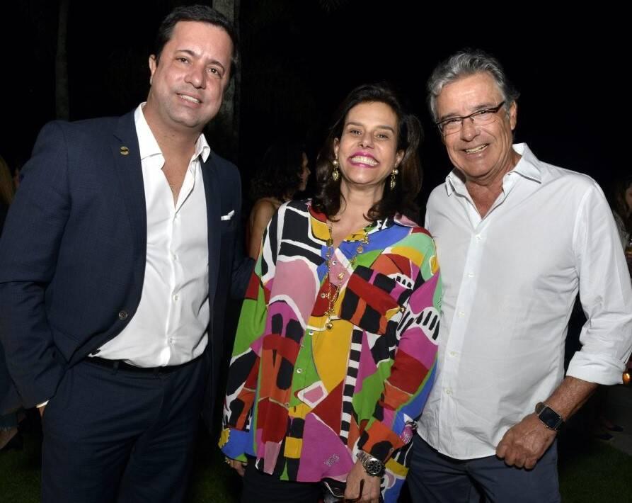 Edruardo Braule-Wanderley, Narcisa Tamborindeguy e Paulo Henrique Cardoso  /Foto: Cristina Granato