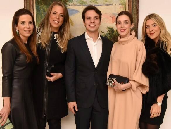 Gabi Peixoto, Patsy Scarpa, Guilherme Assis, Joana Laprovitera e Carol Freitas