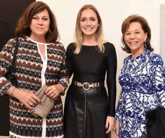 Eliane Viana, Alessandra Assis e Nádia Setubal