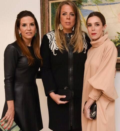 Gabi Peixoto, Patsy Scarpa e Joana Laprovitera