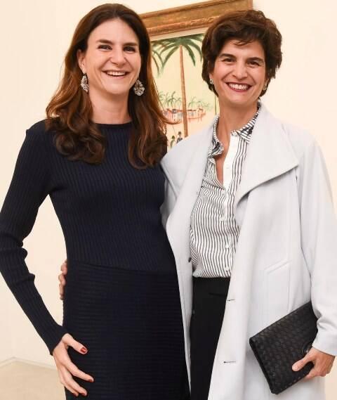 Nathalie Lenci e Fernanda Feitosa