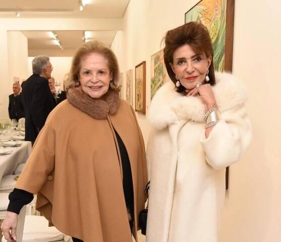 Vanda Jacintho e Renée Behar