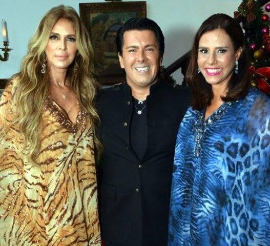 Nina Stevens, André Ramos e Narcisa Tamborindeguy