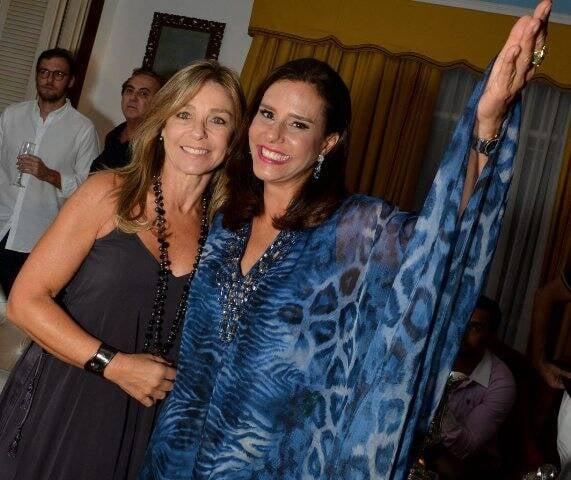 Luciana Pereira da Silva e Narcisa Tamborindeguy