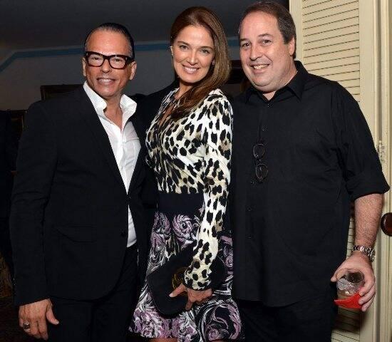 Heckel Verri, Vanessa de Oliveira e George Fauci