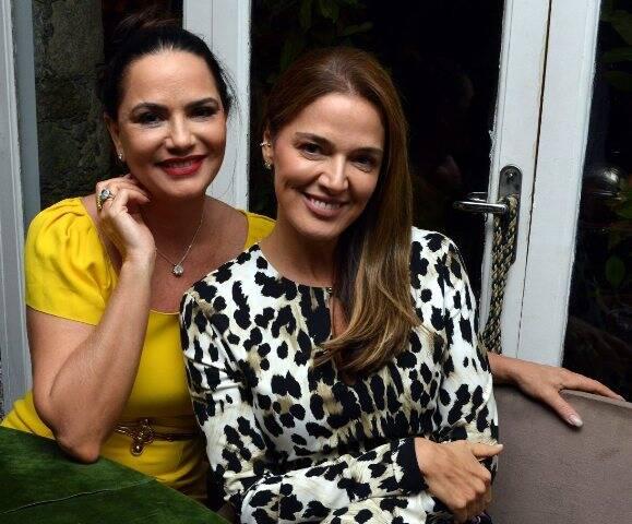 Luiza Brunet e Vanessa de Oliveira