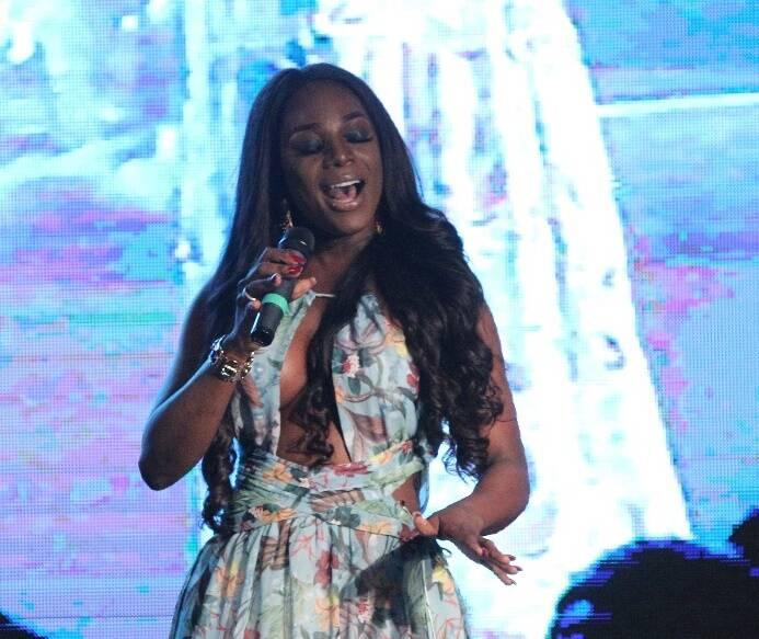 A cantora angolana Titica