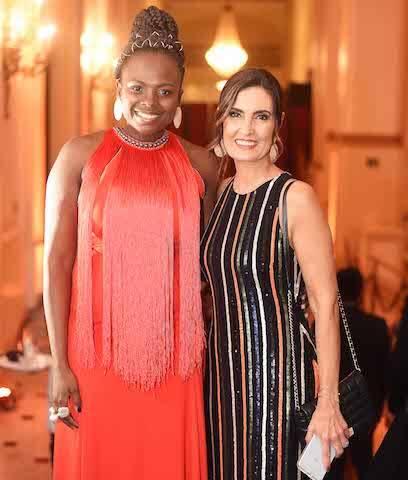 Luana Genot e Fátima Bernardes