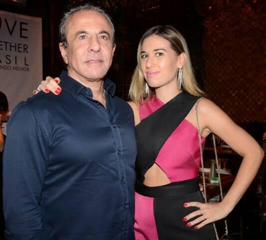 Flávio Aronis e Clarissa Wagner