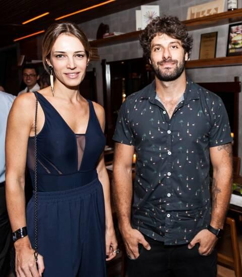 Camila Espinosa e Fred Kyrillos