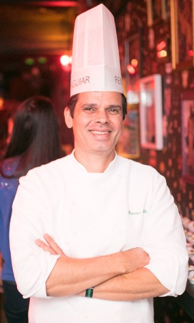 O chef Francisco Rebelo