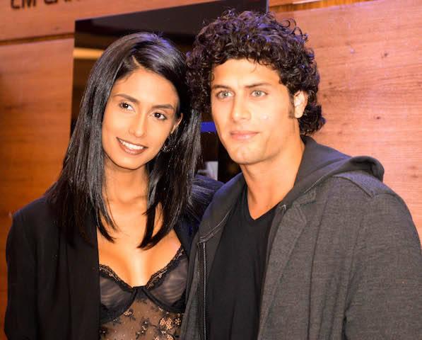 Carol Ramiro e Jesus Luz