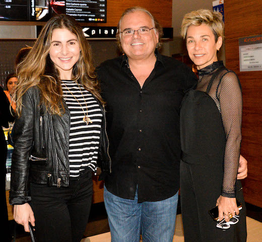 Julia Padilha, Helcius Pitanguy e Edna Gomes