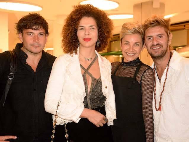 Rodrigo Garcia, Vanessa da Mata, Edna Gomes e André Pacheco