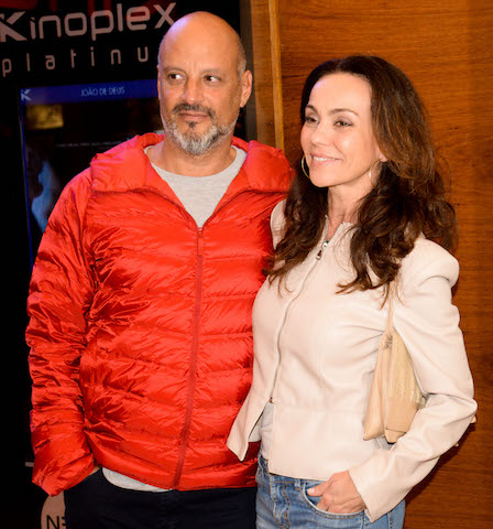 Avner Saragossy e Flávia Monteiro