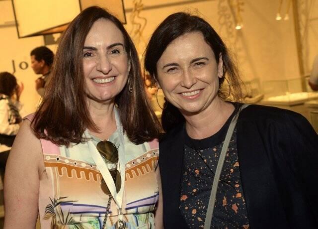 Anna Clara Tenenbaum e Adriana Rattes
