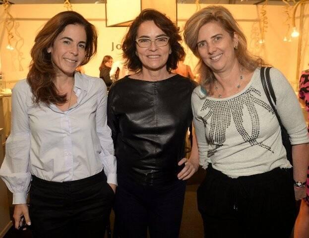Jackie de Botton, Evangelina Seiler e Kika Gama Lobo