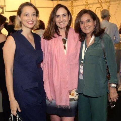 Juliana Barros, Anna Clara Tenenbaum e Ana Andreazza