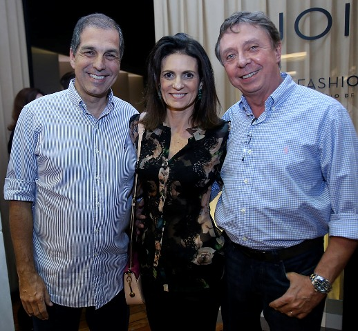 Paula e Luiz Carlos Nabuco com Beto Grabowsky