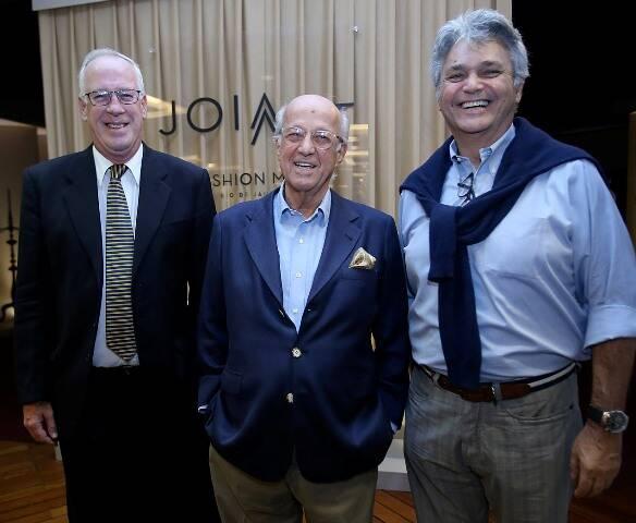 Cristian Hallot, Rodolfo Garcia e Pedro Paranaguá