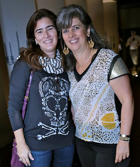 Renata Werneck e Kika Gama Lobo