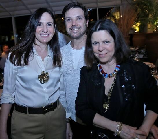 Vanda Klabin, Mário Santos e Anna Clara Herrmann