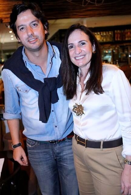 Ricardo Dale e Anna Clara Herrmann