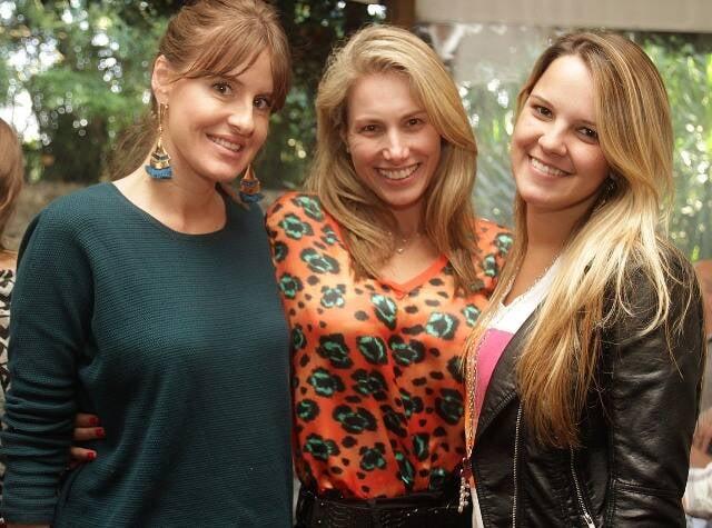 Juliana Burlamaqui, Letícia Levy e Camila Lopes