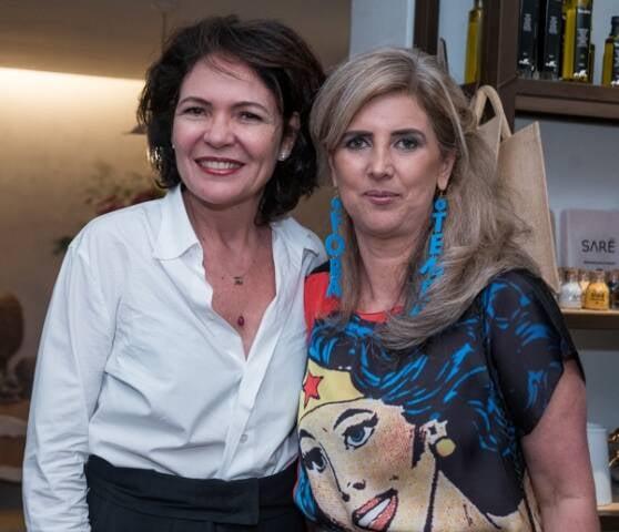 Roberta Damasceno e Kika Gama Lobo