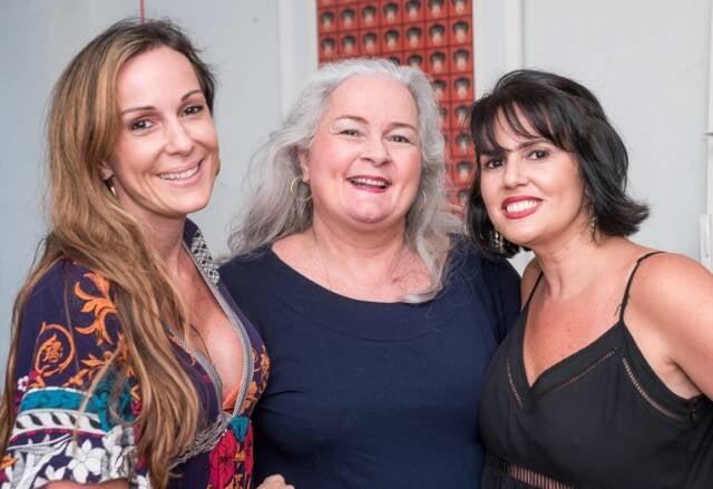 Suzana, Leila e Christina Galdeano