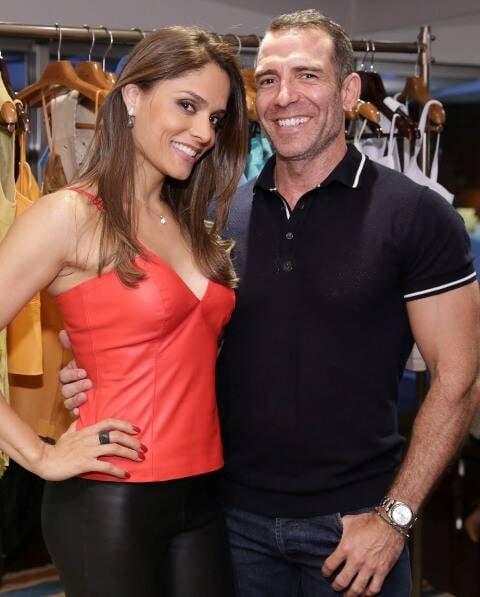 Aline Demeterco e Leonardo Araujo