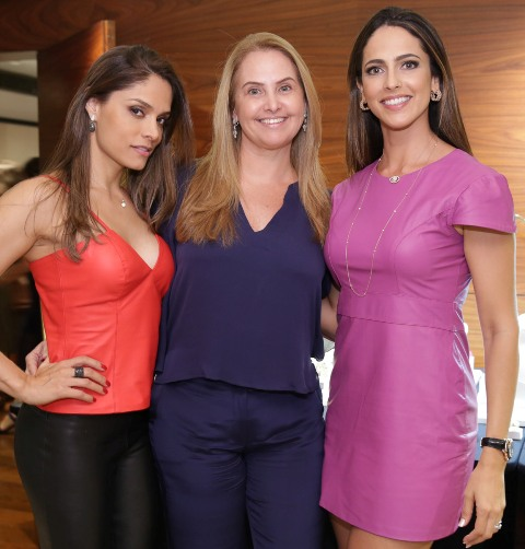 Aline Demeterco, Rosana Pina e Ana Ramalho