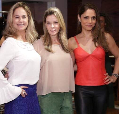 Patrícia Cardoso, Karina Nigri e Aline Demertco