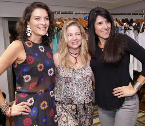 Melissa Jannuzzi, Alessandra Curvelo e Paula Castellões