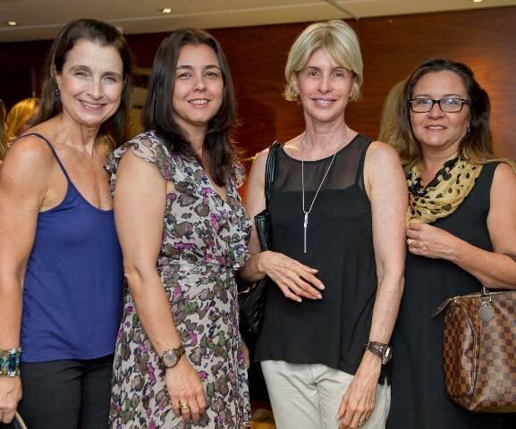 Rizza Falcão, Silvania Oliveira, Andrea Tizzano e Carla Vieira