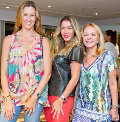 Viviane Doncato, Patricia Vaz e Graça Oliveira Santos